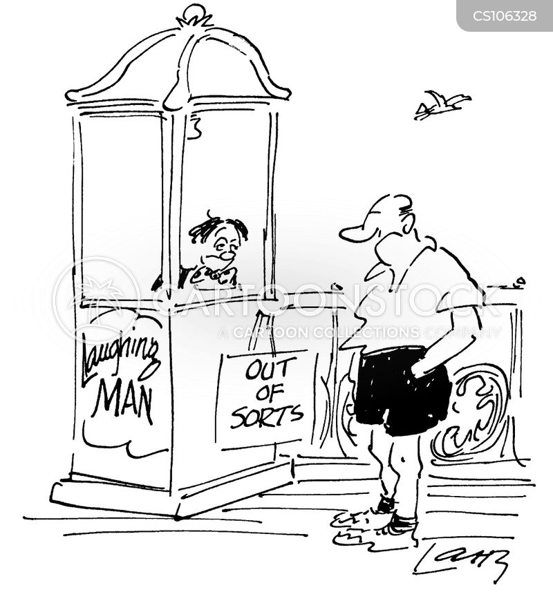 out of sorts cartoon