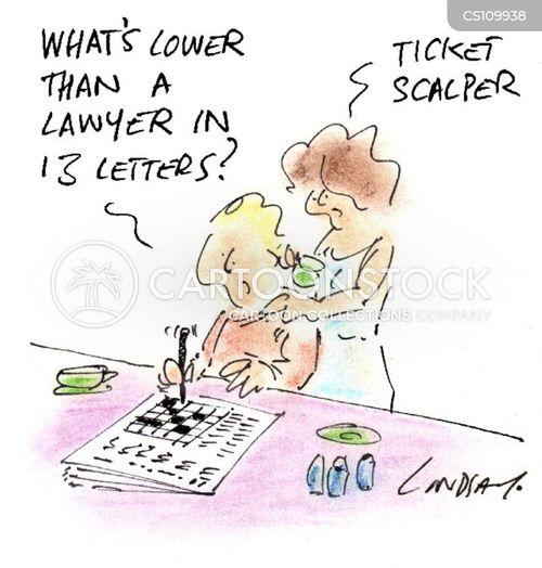 scalper cartoon