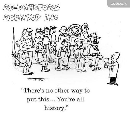 history enthusiast cartoon
