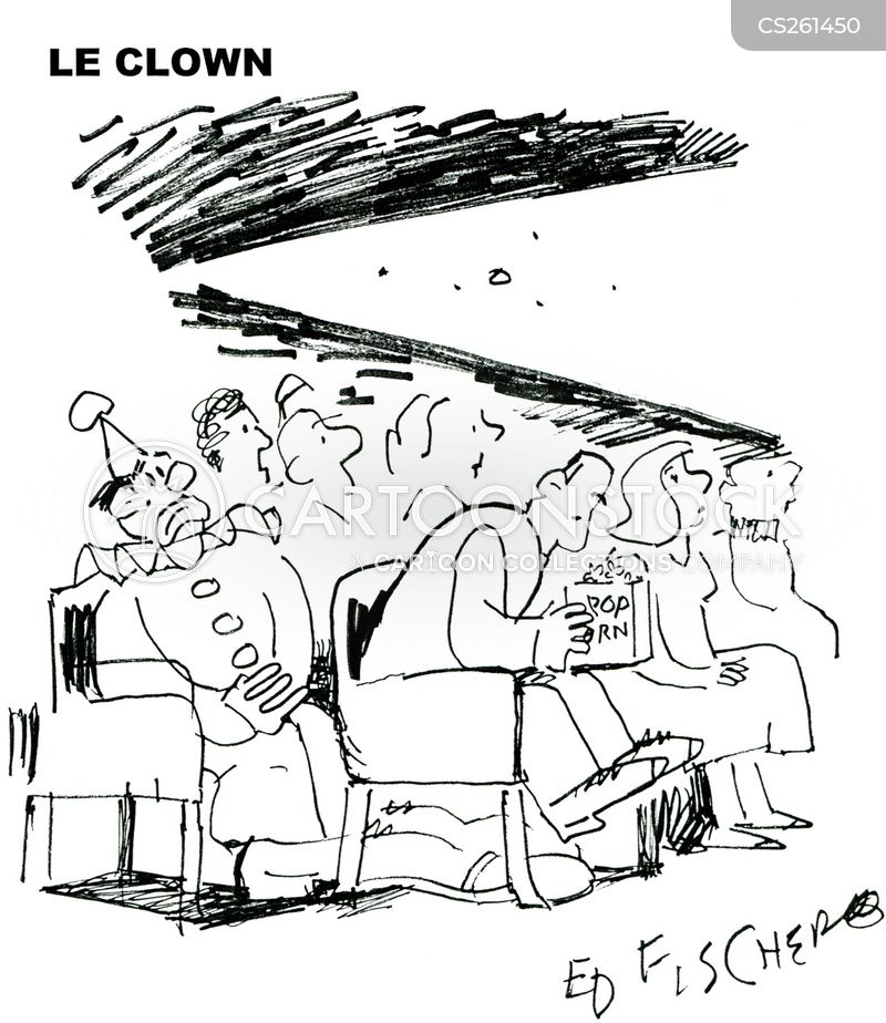 film theatre cartoon