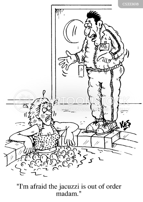 leisure centres cartoon