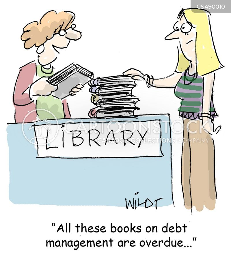 debt management cartoon