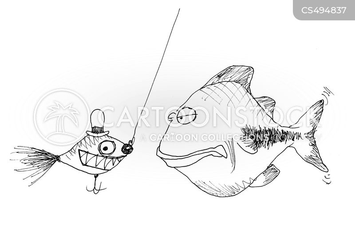 fishing lure cartoon