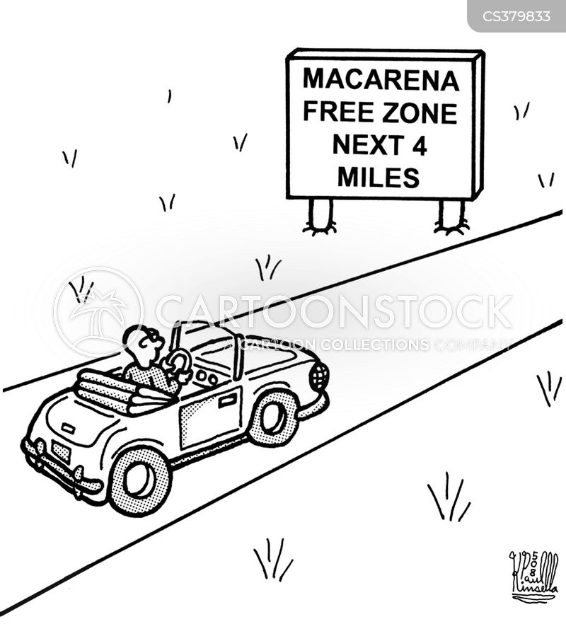 macarena cartoon