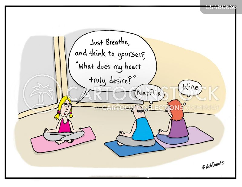 Yoga Exercise Cartoons And Comics Funny Pictures From Cartoonstock