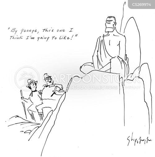 seclusion cartoon