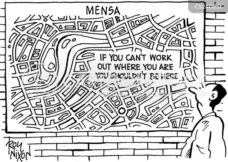 mensa cartoon