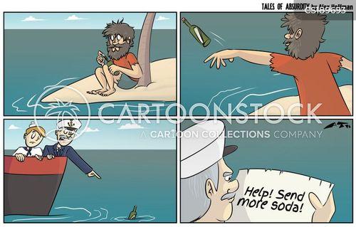 thirstiness cartoon
