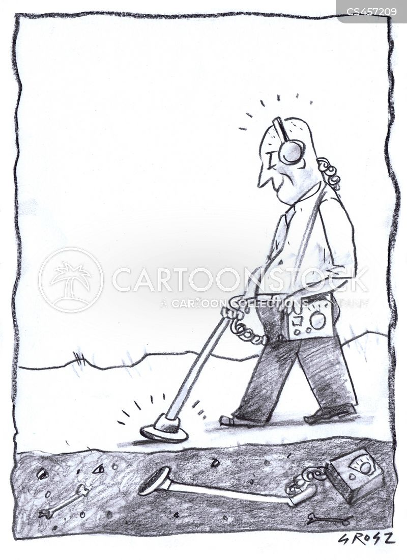 Metal Detection cartoons, Metal Detection cartoon, funny, Metal Detection picture, Metal Detection pictures, Metal Detection image, Metal Detection images, Metal Detection illustration, Metal Detection illustrations