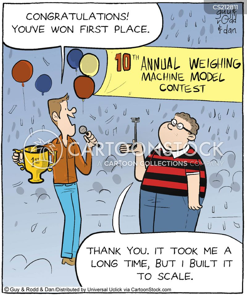 competition winners cartoon