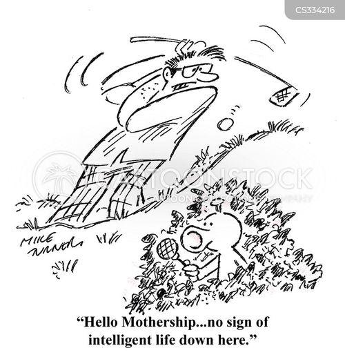 mothership cartoon