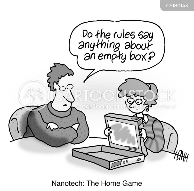 empty box cartoon