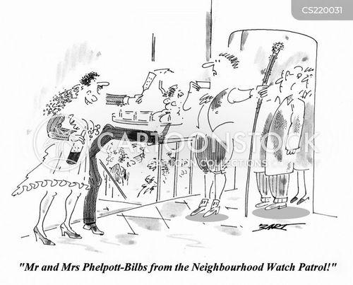 master of ceremonies cartoon