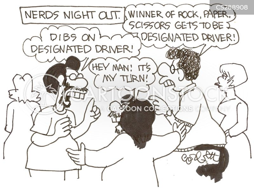 clubbers cartoon