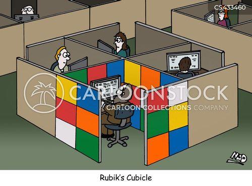 cubes cartoon
