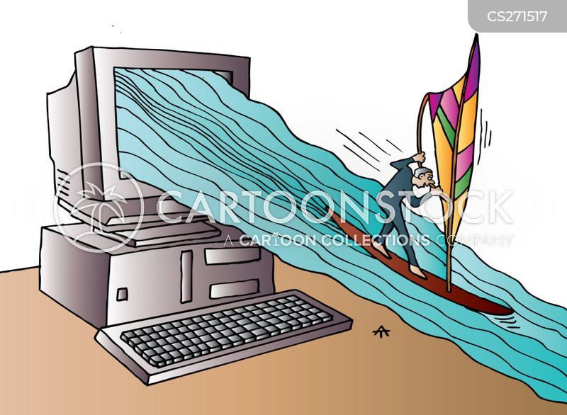 Surfer Cartoon, Surfer Cartoons, Surfer Bild, Surfer Bilder, Surfer Karikatur, Surfer Karikaturen, Surfer Illustration, Surfer Illustrationen, Surfer Witzzeichnung, Surfer Witzzeichnungen
