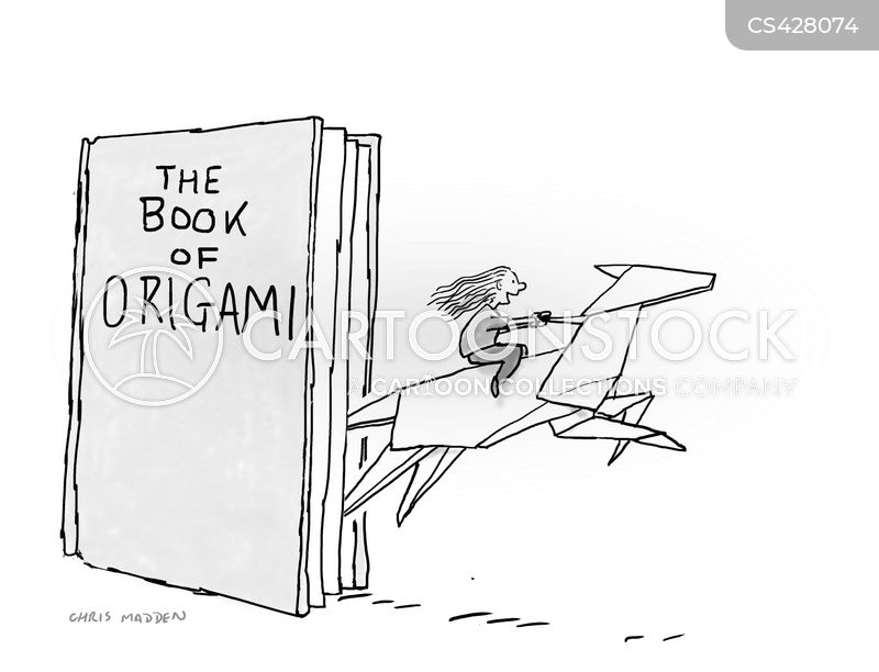 Origami Book cartoons, Origami Book cartoon, funny, Origami Book picture, Origami Book pictures, Origami Book image, Origami Book images, Origami Book illustration, Origami Book illustrations
