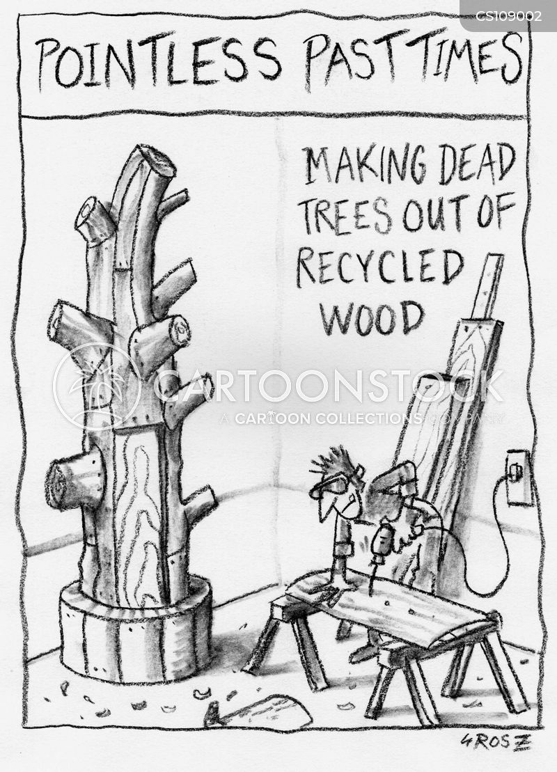 woodshop cartoon