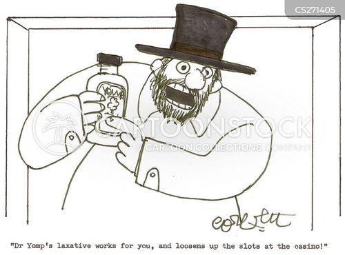 taking medicine cartoon