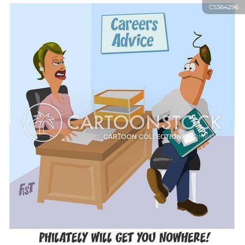 philately cartoon