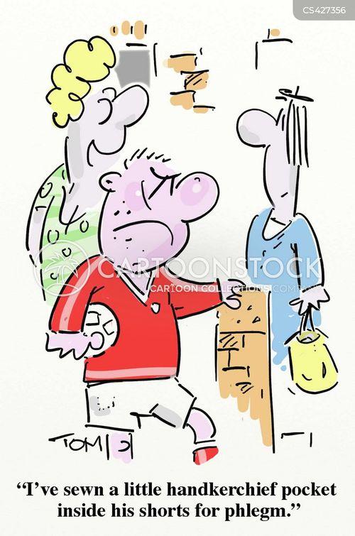 spittle cartoon