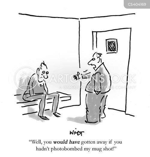 mug shot cartoon