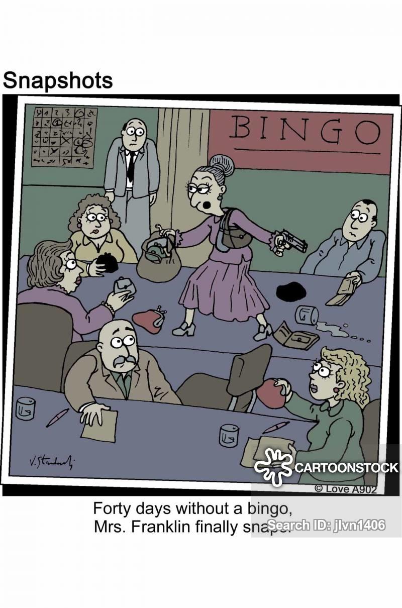 bingos cartoon