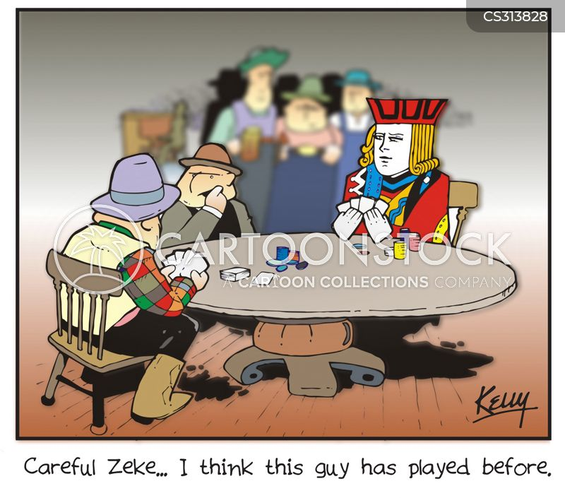 card shark cartoon