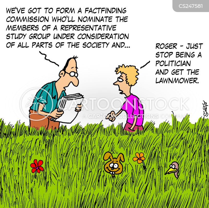 grass cutters cartoon