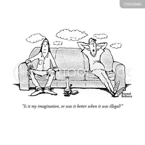 drug habits cartoon