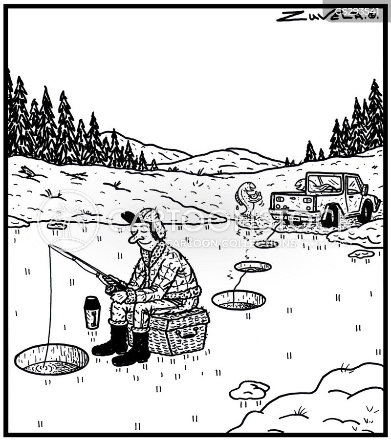 Ice Fishermen Cartoons and Comics - funny pictures from ... Funny Ice Fishing Jokes