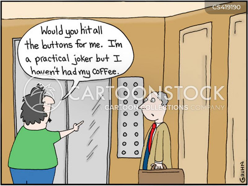 practical joker cartoon