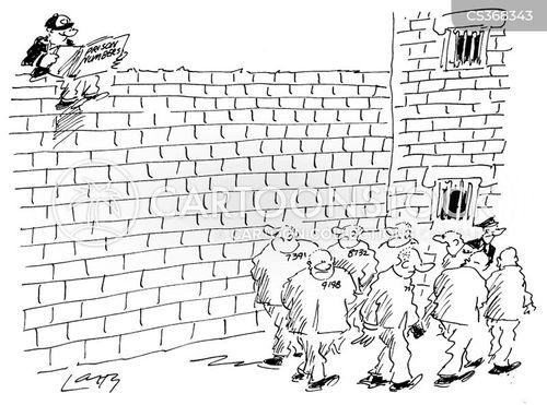 prison numbers cartoon