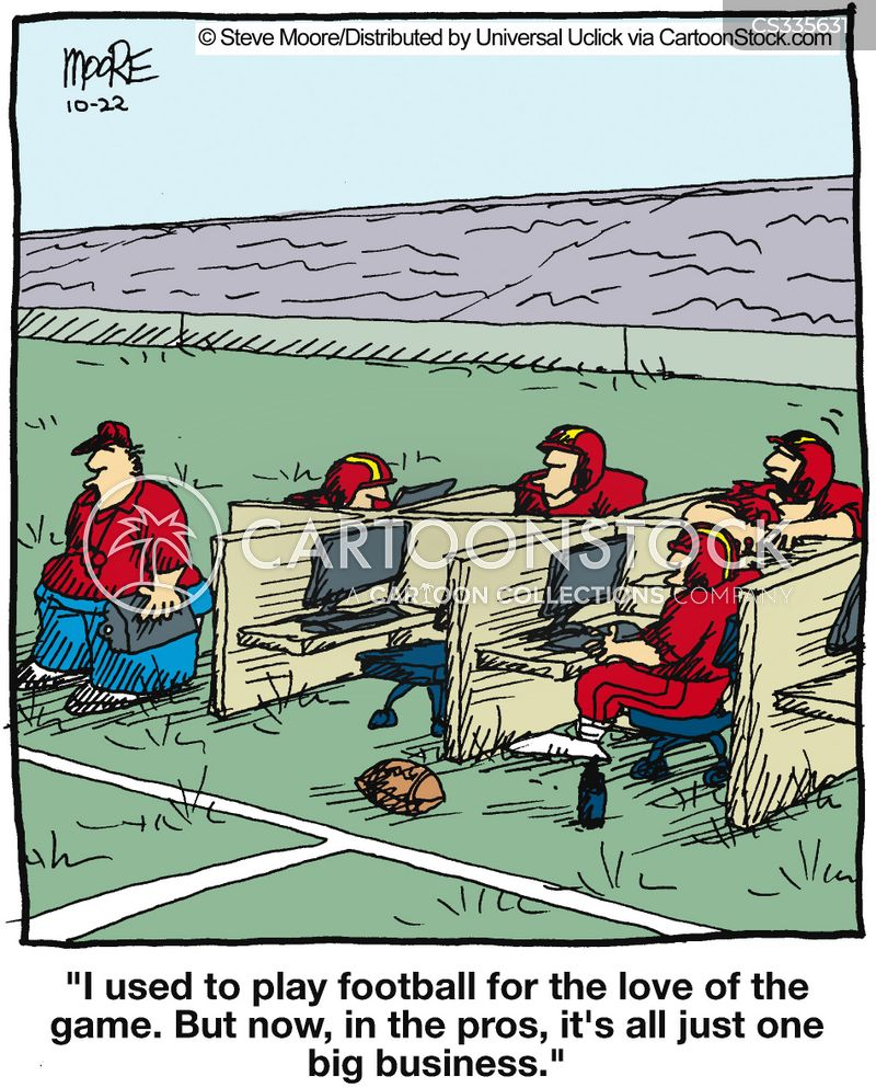 Major League Football Cartoons And Comics Funny Pictures From