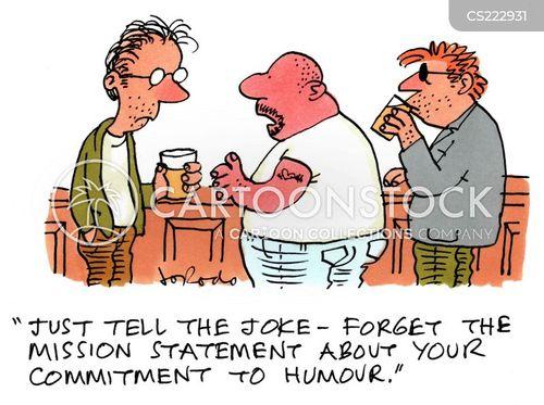 punchline cartoon