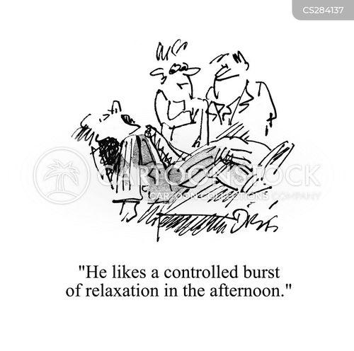 narcoleptic cartoon