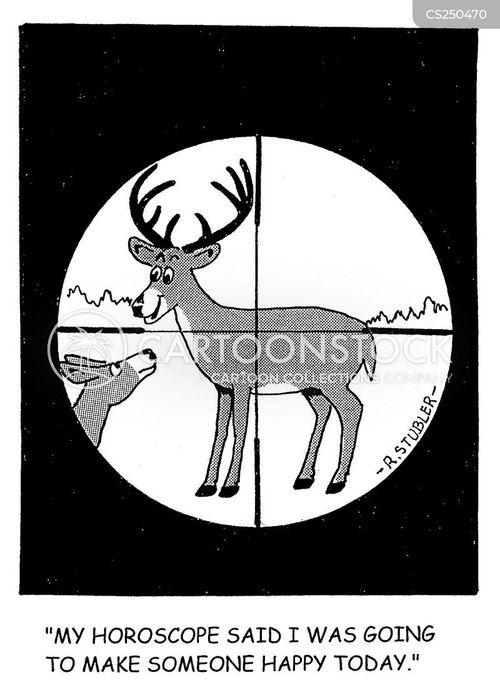 crosshairs cartoon