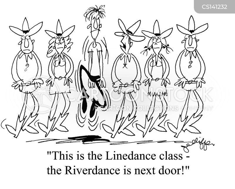 riverdance cartoon