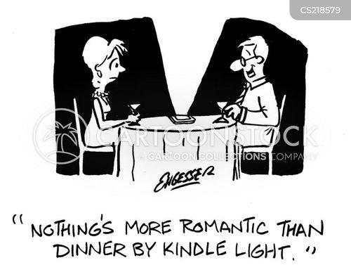 candlelight cartoon