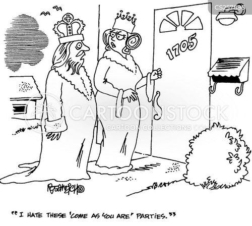 crowned cartoon