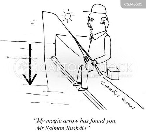 magic arrow cartoon