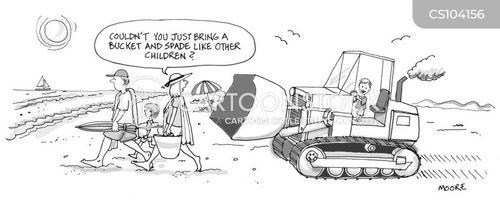 overachieving cartoon