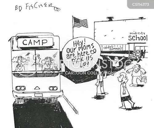 boarding schools cartoon