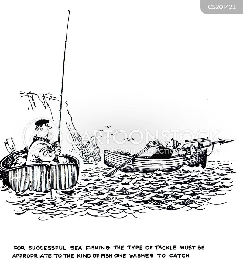 fishing boats cartoon