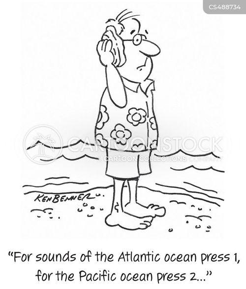 pacific ocean cartoon