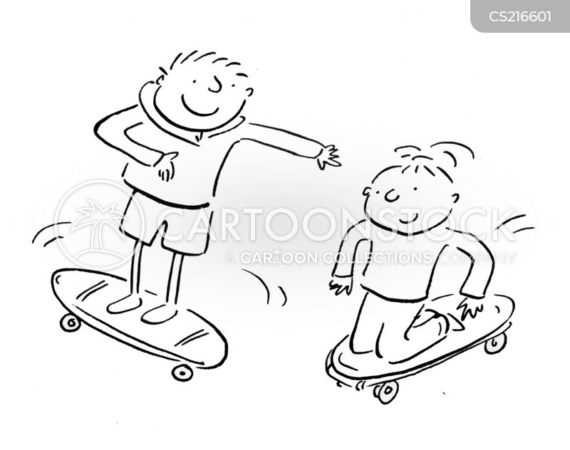 skated cartoon