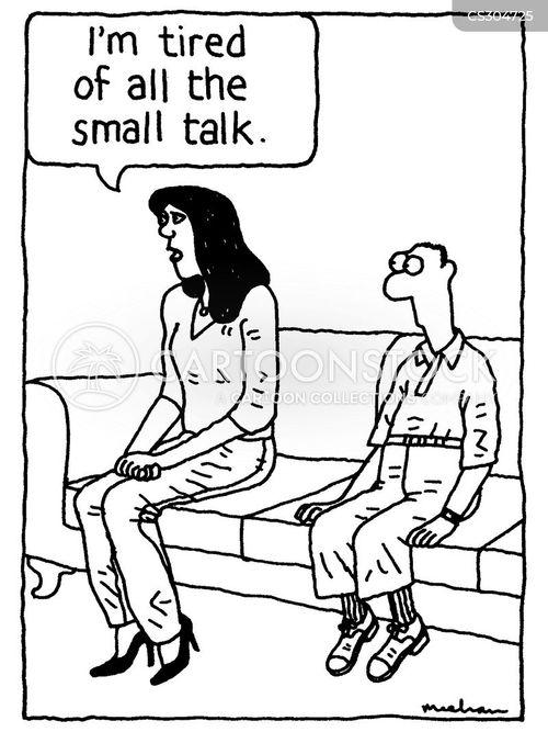 polite conversations cartoon