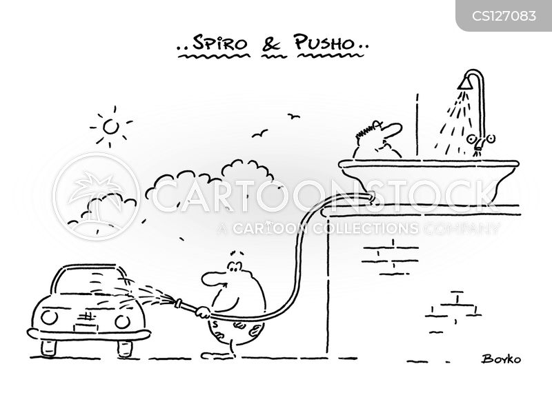 carwashes cartoon