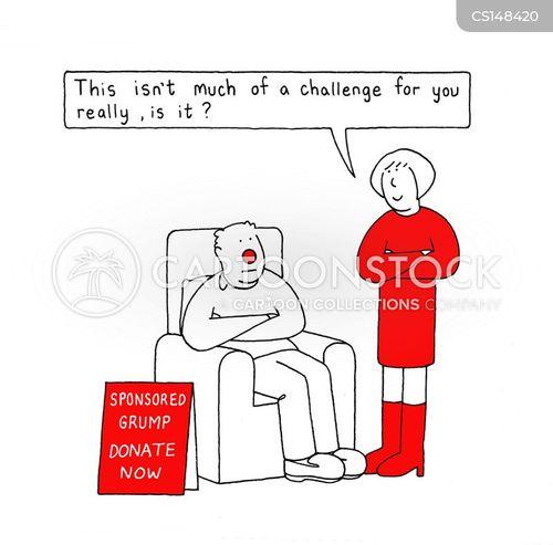 grumpy behaviour cartoon