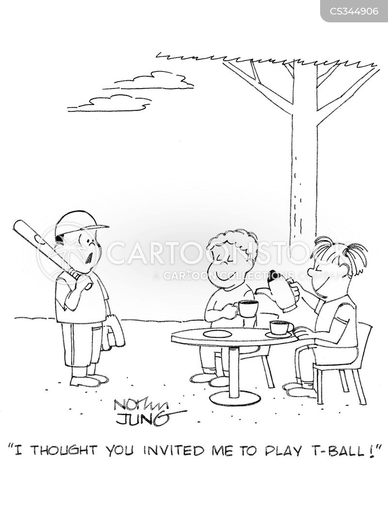 T-ball Cartoons and Comics - funny pictures from CartoonStock